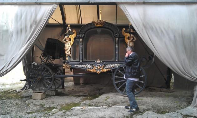 pohrebný kočiar