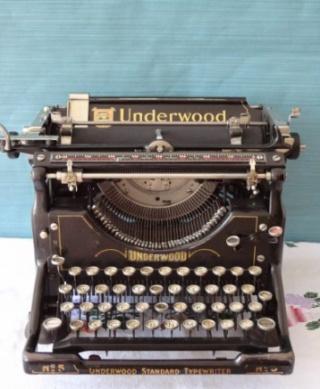 Písací stroj Underwood